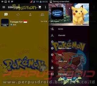 Download BBM Mod Tema Pokemon Versi 3.0.0.18 Apk