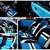 HONDA NOUVA jok permanent black - cream - gogo blue