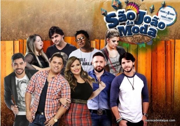 Preços dos Shows no São João da Moda 2016 são divulgados. Show de Aviões do Forró custará 220 mil