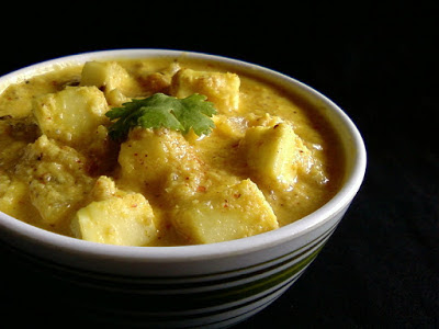 Paneer Malabari (Malabar Style Indian Cottage Cheese Curry)
