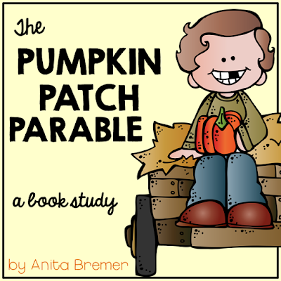 Non-Halloween themed book companion activities for the Pumpkin Patch Parable