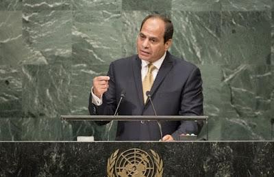 السيسي في الجمعية العامة للأمم المتحدة نيويورك