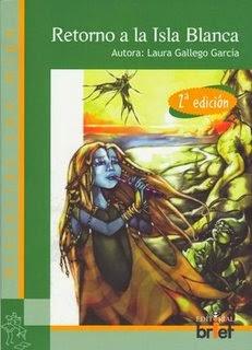 """Portada del libro """"Retorno a la Isla Blanca"""", de Laura Gallego"""