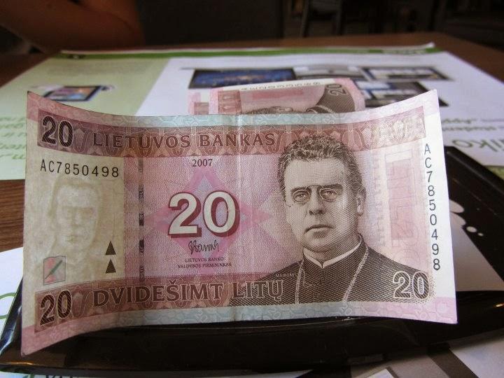Litas moneda lituana