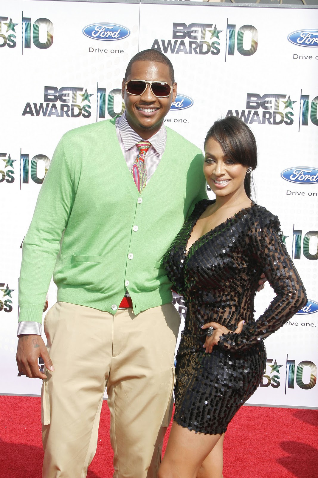 Carmelo Anthony | With Wife La La New Photos 2012 | All ...