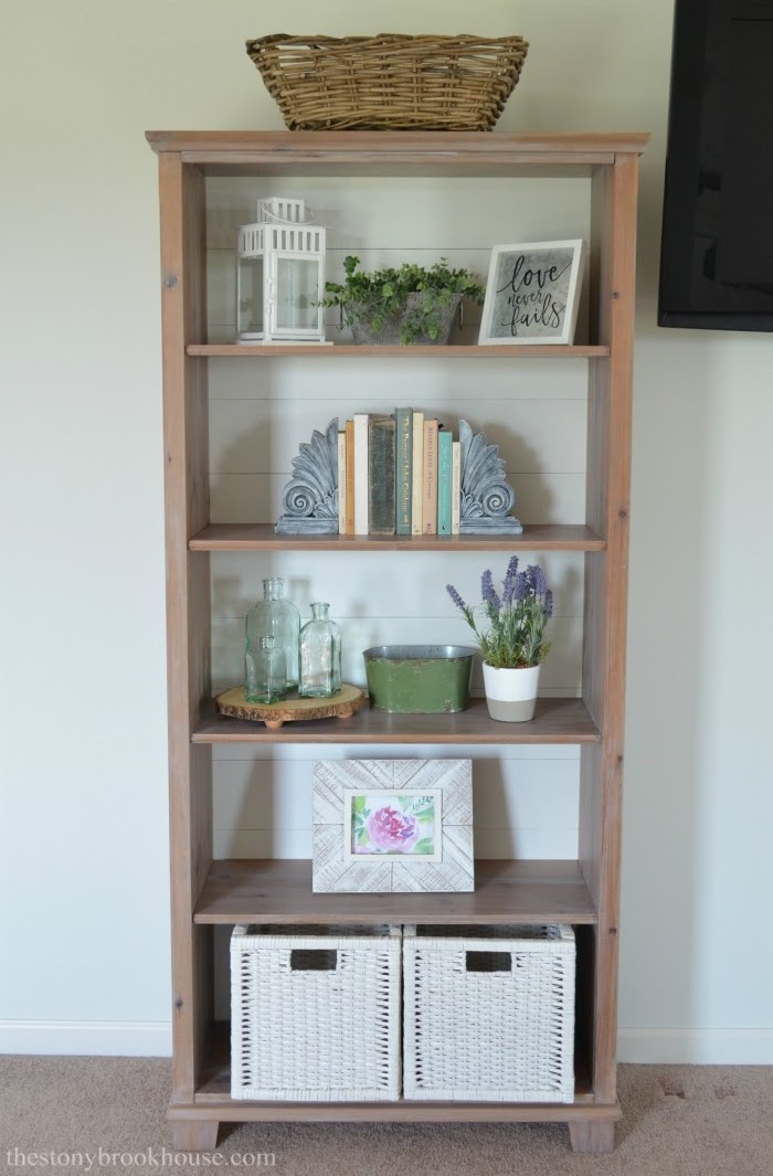 Bookshelf Styling Success - Shelf 1