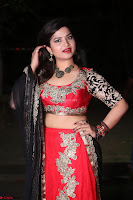 Sirisha Dasari in Red Ghagra Backless Choli ~  024.JPG