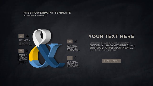 Free PowerPoint Template with 3D Puzzle and Sign Infographic Elements Slide 10