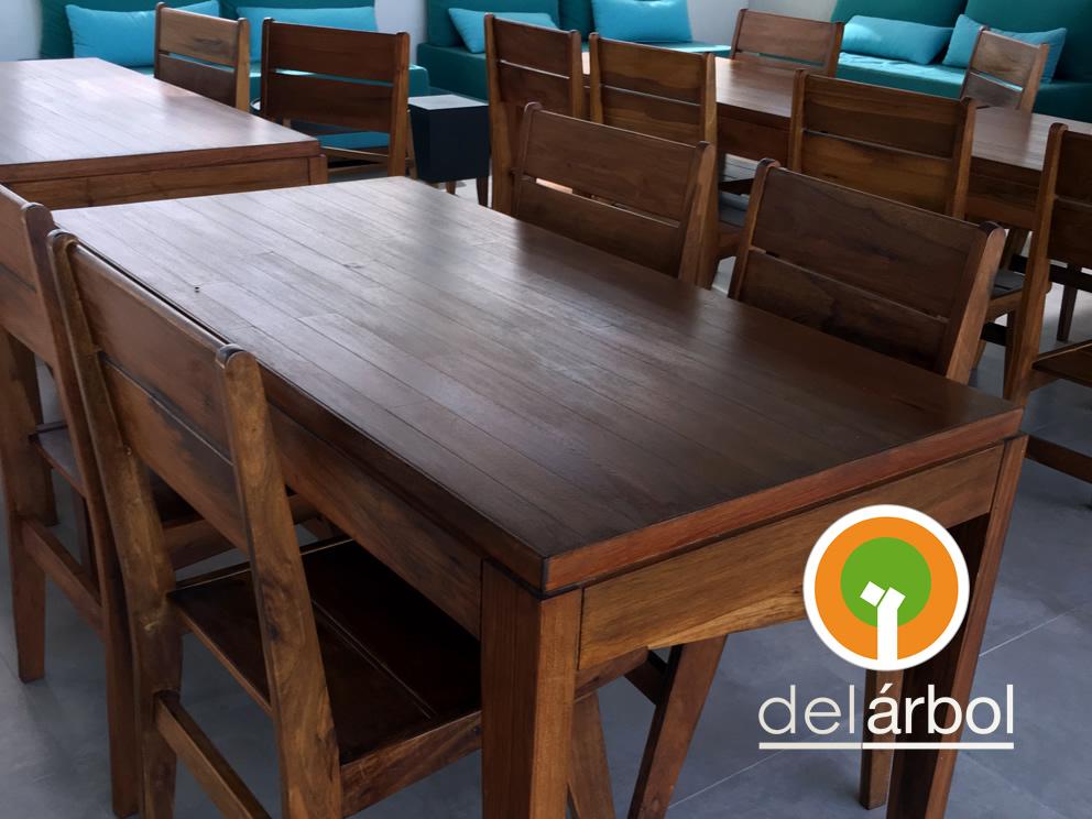 Del arbol f brica de muebles de madera silla teresita for Fabrica de muebles de madera