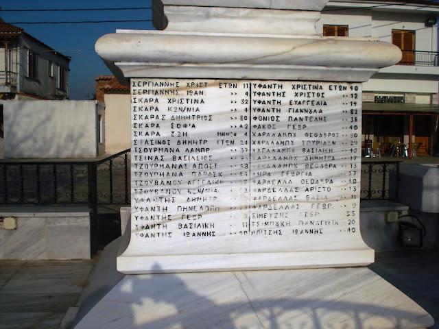 Άρτα: Μνημόσυνο μνήμης των 317 μαρτύρων Ηρώων του Κομμένου, την Κυριακή 16 Αυγούστου