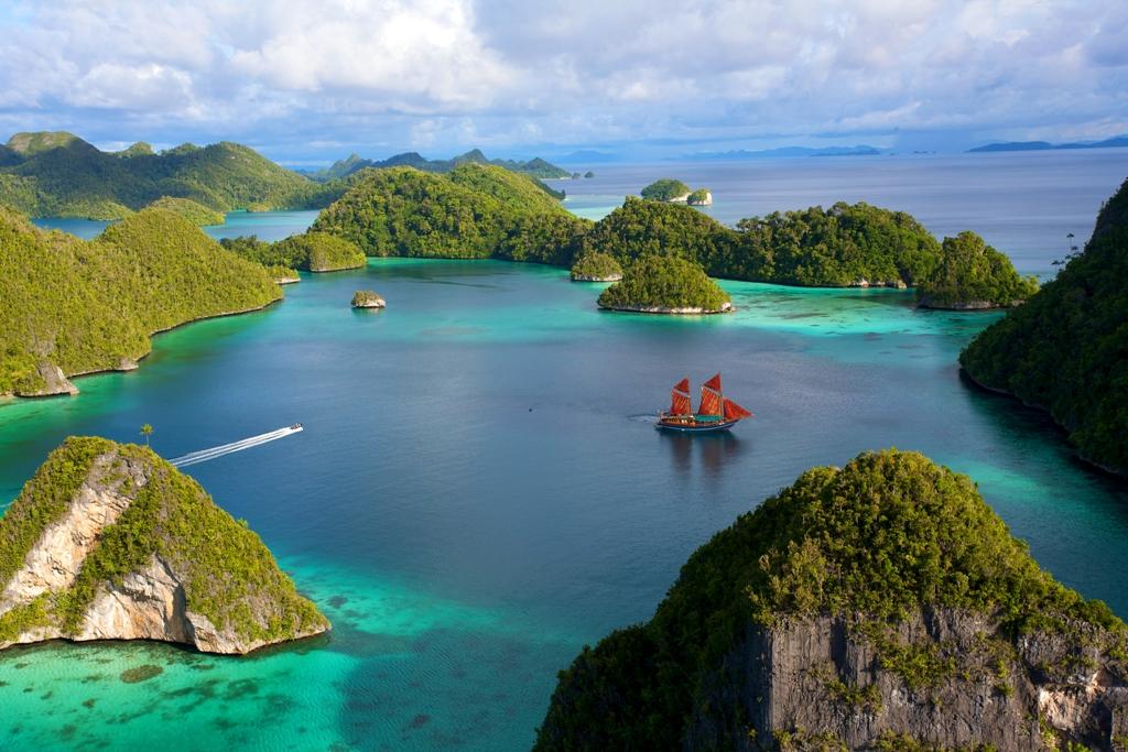 Gambar Pemandangan Alam Indonesia Indah Kata Background