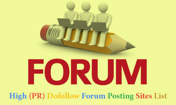 Free Forum Posting Sites List 2018 - D M S Tech Blog