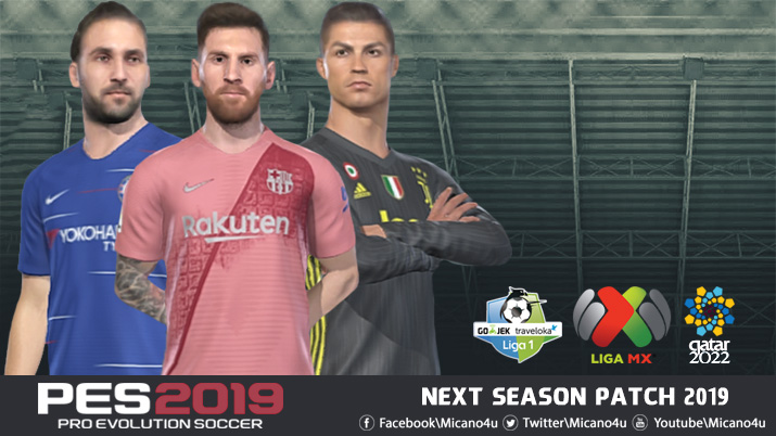 Next Season Patch | PES2019 | PC | Steam | CPY | Released | Pes Free