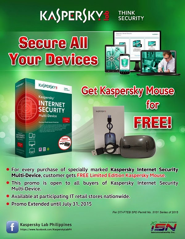 KIS MD with free Kaspersky Mouse