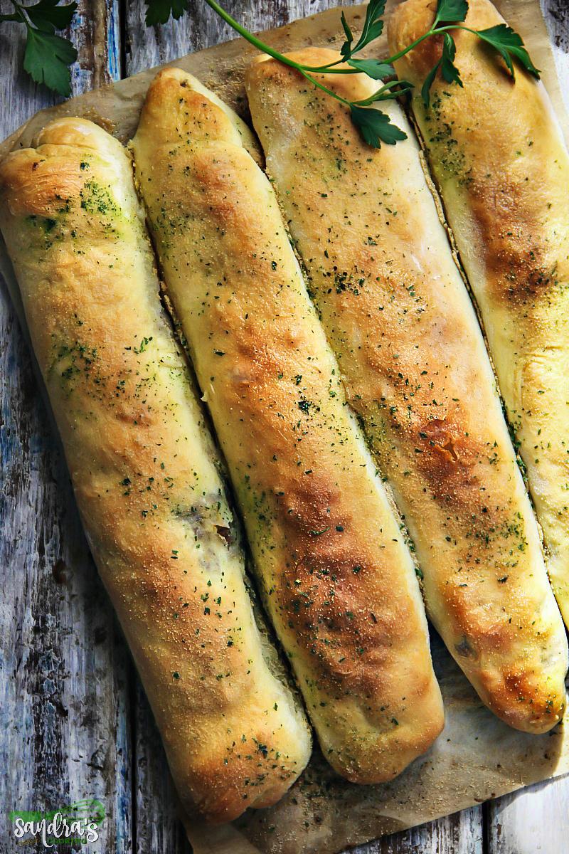 Meat Roll Sticks - Stuffed Bread