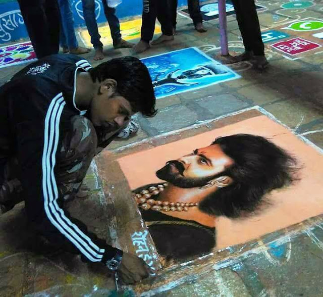 Rangoli-Artist