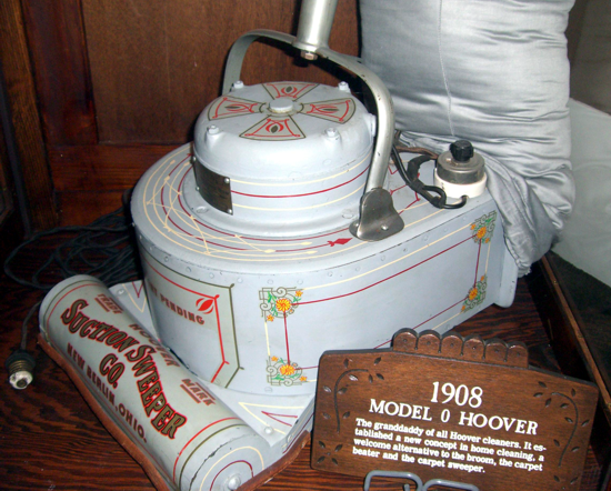 First Versions Hoover Vacuum Cleaner