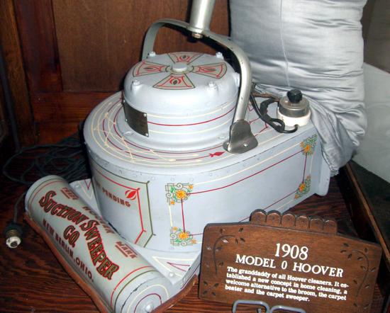 Hoover Model 0 detail