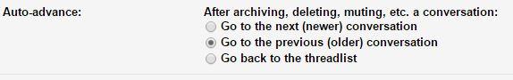 Gmail Auto-Advance