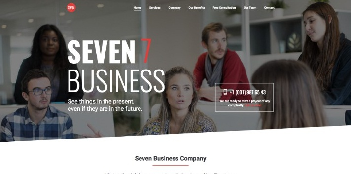 Best wordpress theme The7