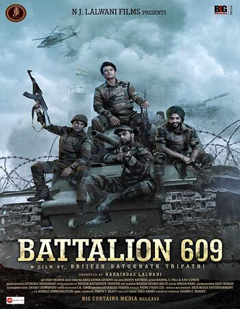 Battalion 609 (2019) Hindi 480p HDTV x264 400MB Movie Download