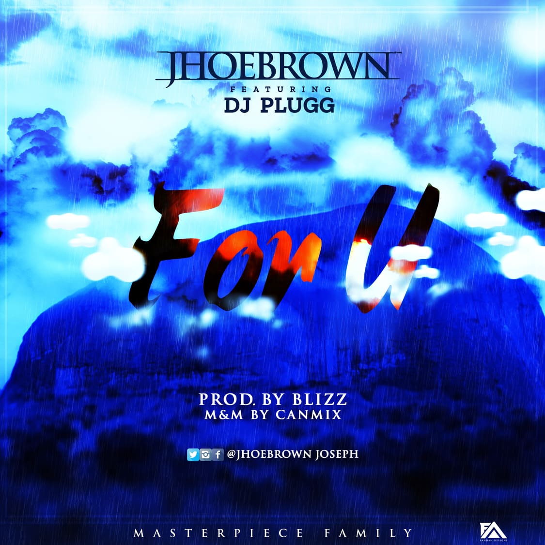 Music] Jhoebrown ft  Dj Plugg - For U || @jhoebrownjoseph - Oyinbonaija