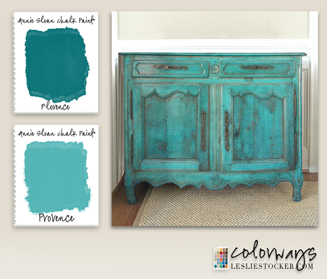 Dark Blue Chalk Paint Kitchen Cabinets: Colorways: French Green