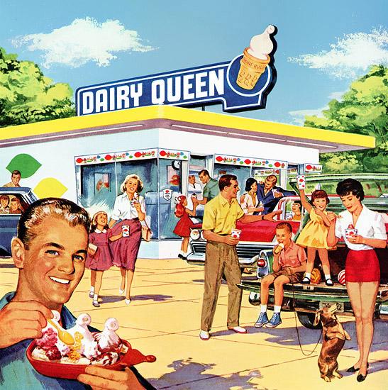 Vintage Dairy Queen 93