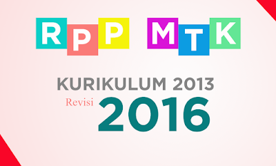 jual RPP Matematika Kurikulum 2013 Revisi 2016