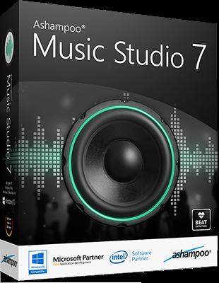 Ashampoo Music Studio 7.0.1.6 poster box cover