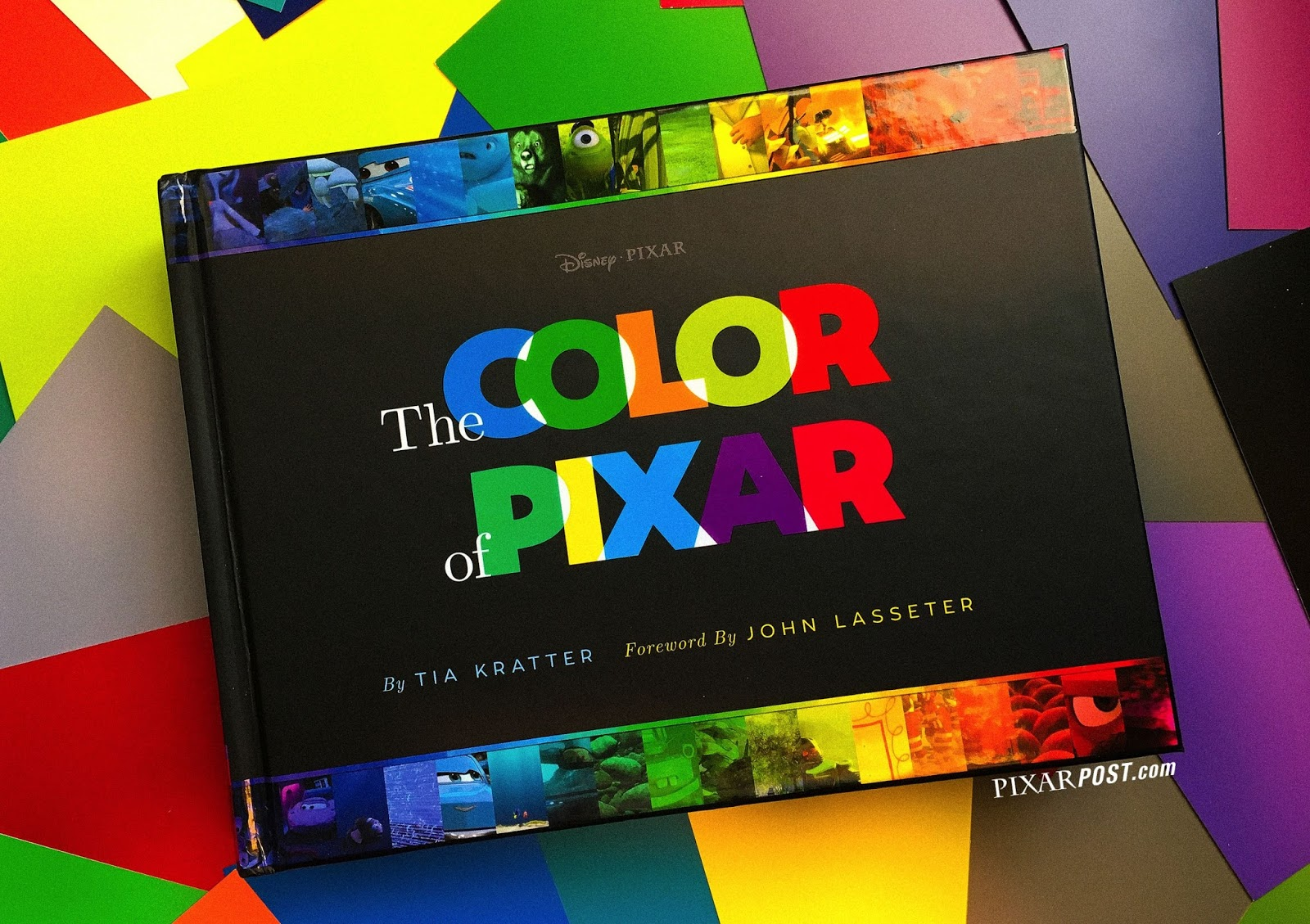First-Look Video Review of \'The Color of Pixar\' Book by Tia Kratter ...