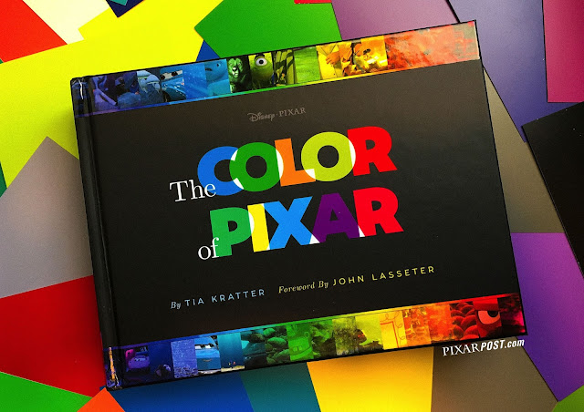 The Color of Pixar Book
