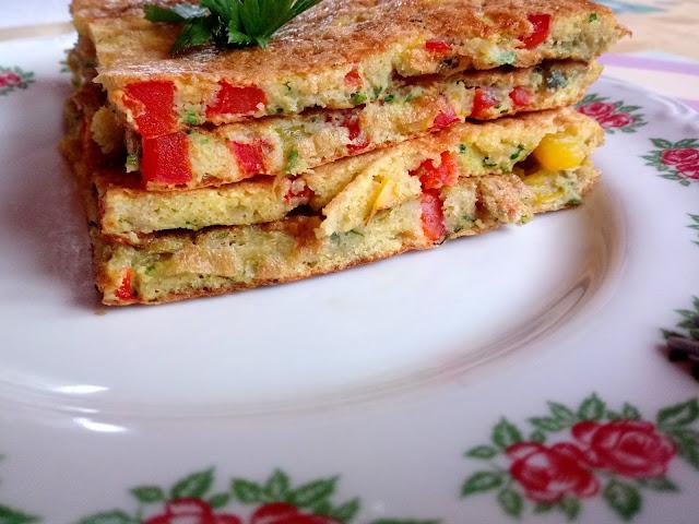 Kolorowy omlet