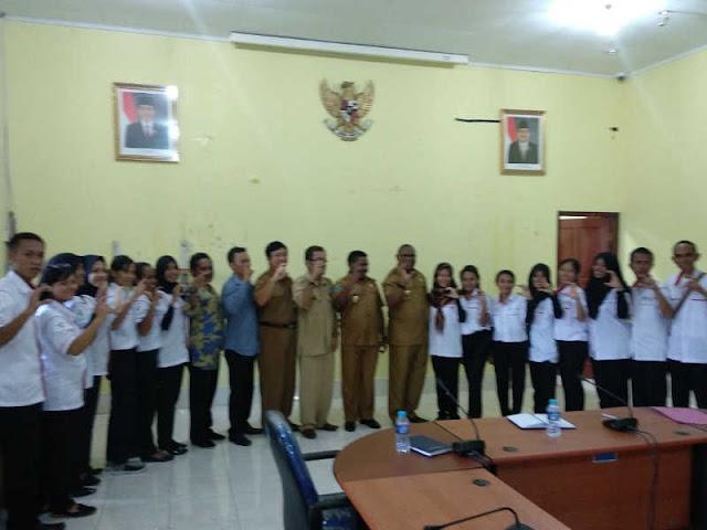 Samsudin Anggiuli Terima Tim Nusantara Sehat di Sorong Selatan