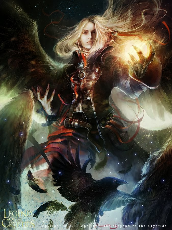 Legend of the Cryptids Fantasy Digital Paintings by Ania Mitura