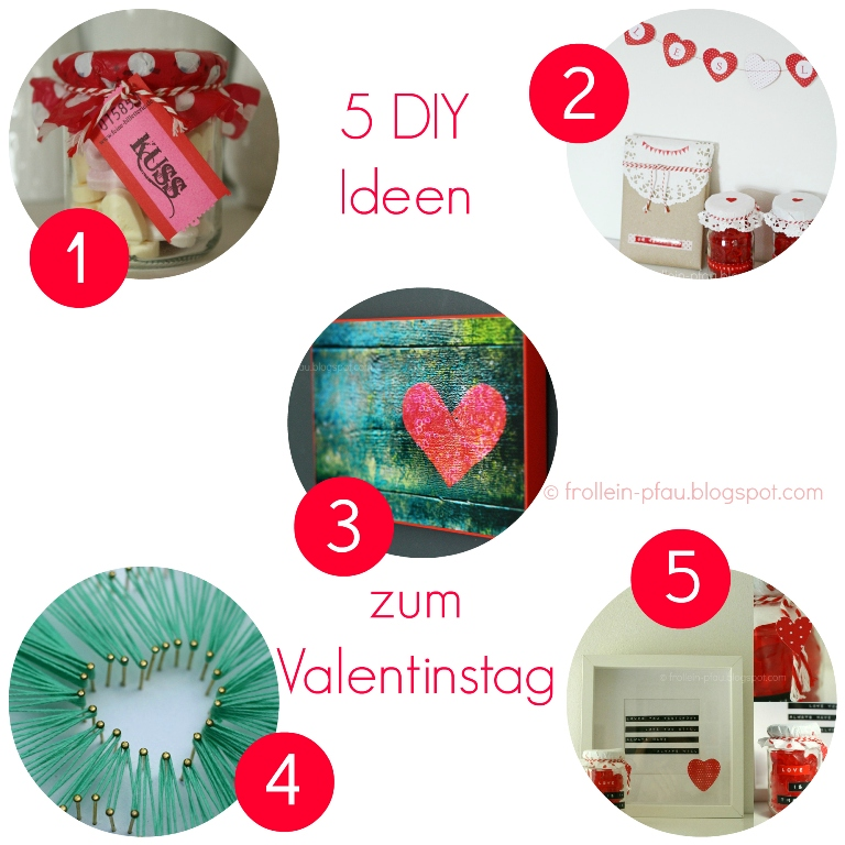 frollein pfau diy ideen zum valentinstag creadienstag. Black Bedroom Furniture Sets. Home Design Ideas