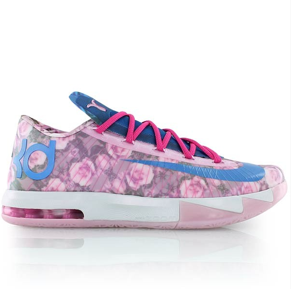 67206b6ac62 Nike annually releases a colorway to tribute her. This upcoming release  features a full upper of floral print. It is pink on the lateral side and  blue on ...