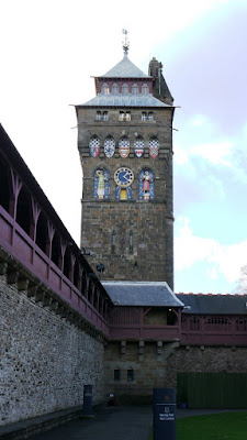 Clock Tower at Cardiff Castle