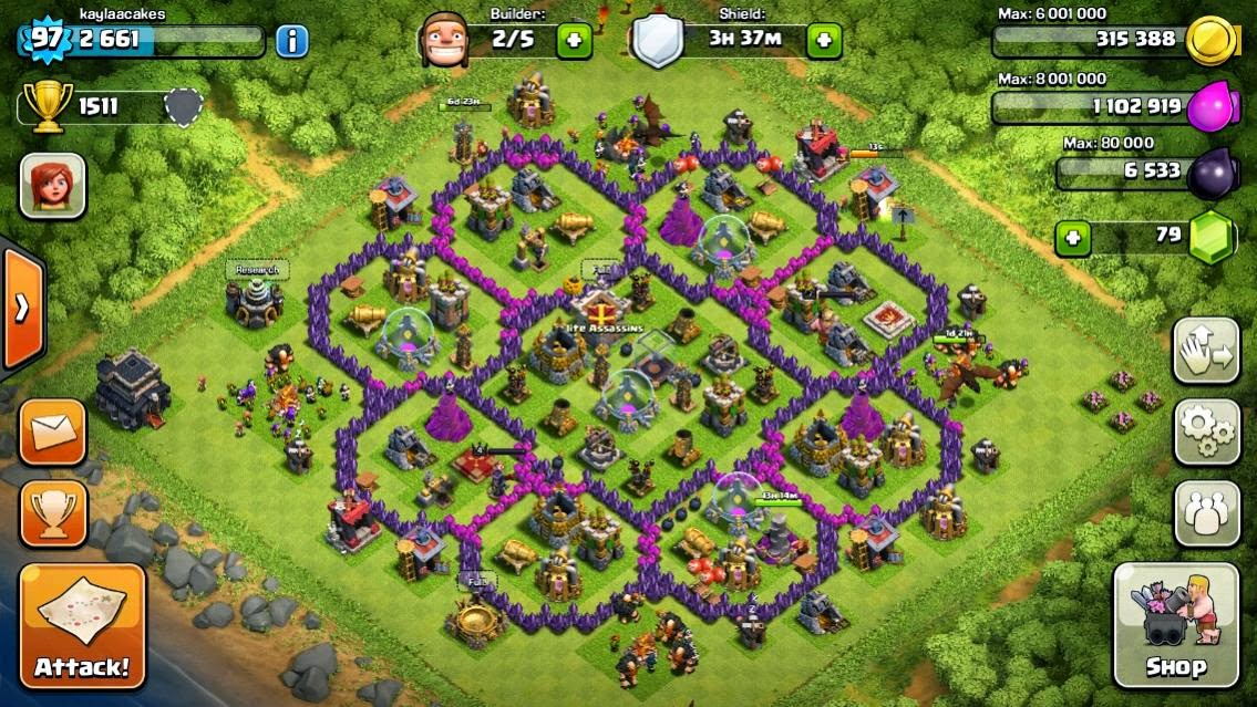 Image result for formasi coc th level 5 hybrid