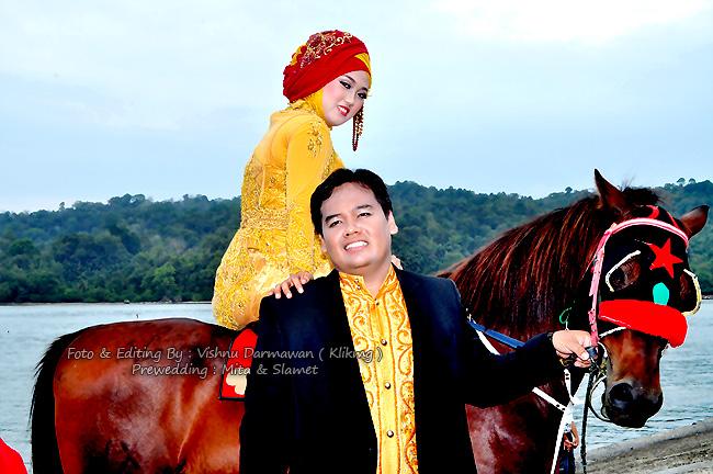 Prewedding : Mita & Slamet || Fotografer & Editing : Vishnu Darmawan ( KLIKMG )