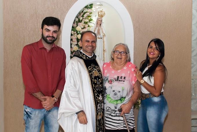 Ronaltty Neri prestigia novena e jantar da Festa de Nossa Senhora de Fátima na comunidade Catururé