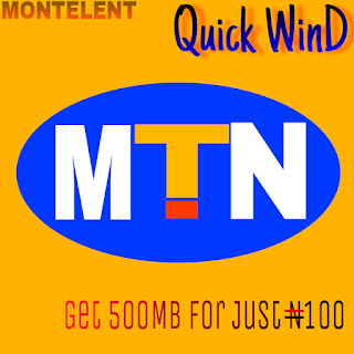 Get 500MB Data For Just N100 On Your Device