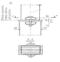 Болтовое соединение колонны