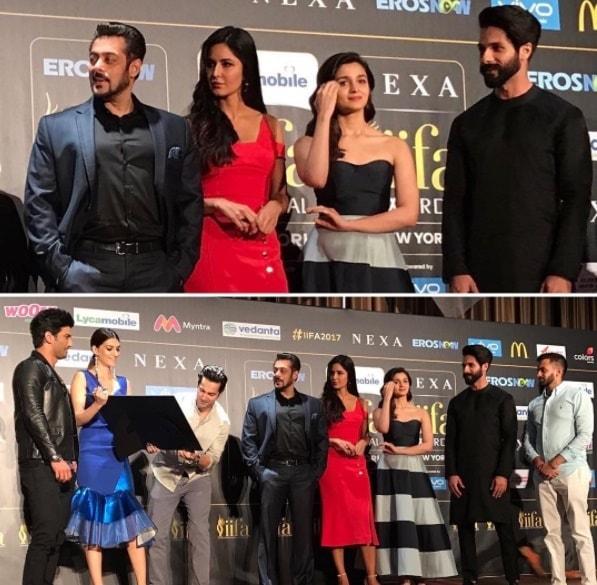 Salman Khan Sings For Katrina Kaif IIFA 2017