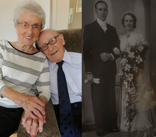 britain's oldest married couples