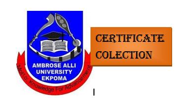 AAU Certificates Collection Procedure