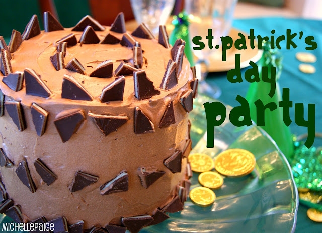 St. Patrick's Day Party @michellepaigeblogs.com