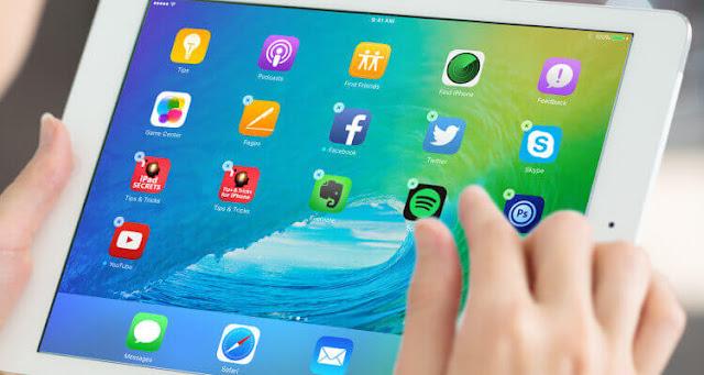 delete apps ios 11 مسح التطبيقات اي او اس ١١ ايباد برو ipad pro 3d touch