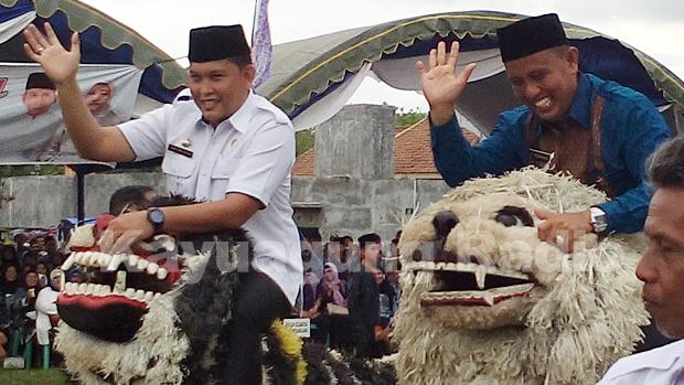 Pawai Taaruf Ramaikan MTQ ke 27 Tingkat Kabupaten OKI Tahun 2016