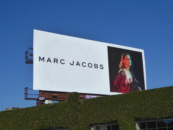 Marc Jacobs Susan Sarandon FW16 billboard